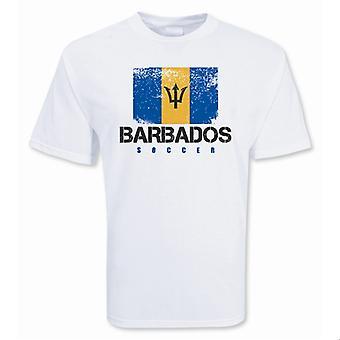 Барбадос футбол футболку