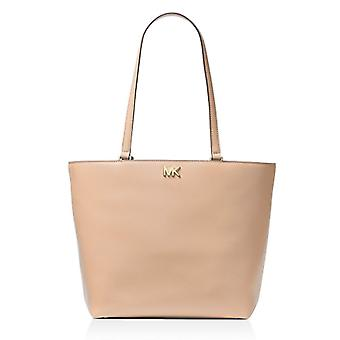 Michael Kors Mott Leather Tote - OYSTER - 30F7GOXT2L-134