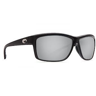 Costa Del Mar Mag Bay polarisiert glänzende schwarze Sonnenbrillen - AA-11-OSCP