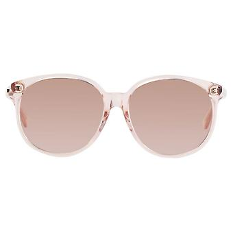 Gucci Pink Ladies Sunglasses - GG0261SA-006