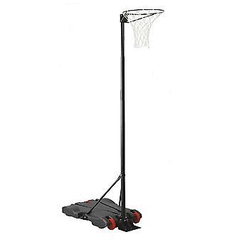 Charles Bentley netball Hoop post höjd 1,4 M-2,75 M Junior fristående på hjul