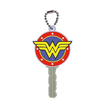 Schlüsselkappe - DC Comic - Wonder Woman Logo Soft HolderToys New 45098