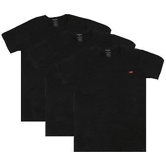 Diesel Umtee Randal Crew Neck 3 Pack T-Shirt - Black