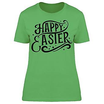 Happy Easter Phrase Tee Women's -Image by Shutterstock