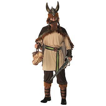 Viking man barbariske kriger Medieval nordisk spill av troner menn drakt