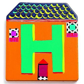 Djeco Cottage letter - H (Babies and Children , Toys , Others)