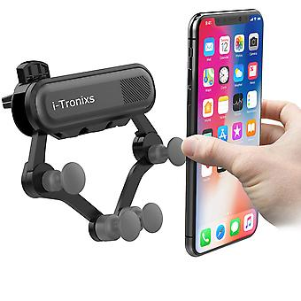 I-Tronixs Automatic Locking Car Mount Air Vent Phone Holder For Samsung Galaxy Grand Max 5.25