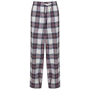 SF Womens/Ladies Tartan Lounge Pants