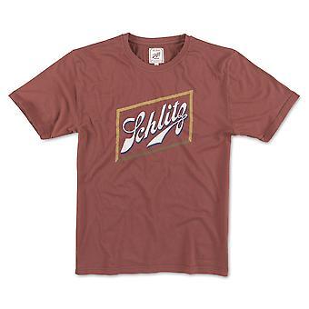 Schlitz Beer Logo Men's Red T-Shirt