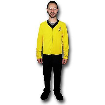 Star Trek Yellow Command Union Suit