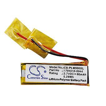 Batterie für Plantronics 1704018-0944 71468-01 Discovery 640E Discovery 650E M50