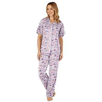 Slenderella GL4703 Women's Gaspe Floral Pyjama Set