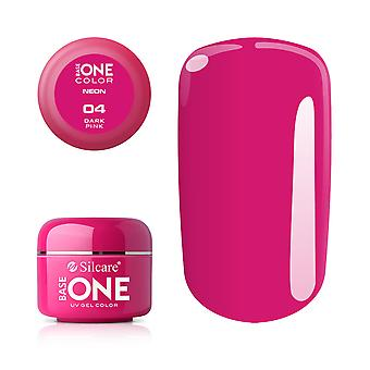 Base one-Neon-Dark pink 5g UV gel
