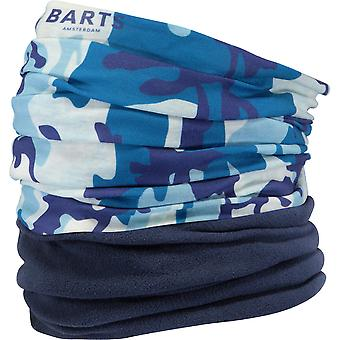 Barts mens Multicol Polar Fleece Camo Neckwarmer sjaal