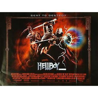 Hellboy (Red) (Single Sided) Original Cinema Poster