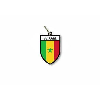 مفتاح الباب الرئيسية العلم جمع شعار المدينة من الأسلحة السنغال السنغال