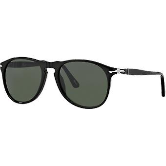 Persol 9649S preto cinzento Verde