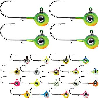 VMC 3/8 oz. Neon Moon Eye jig-4 pack