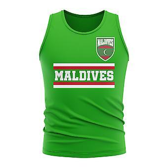 Maldivene Core fotball land ermeløs tee (grønn)