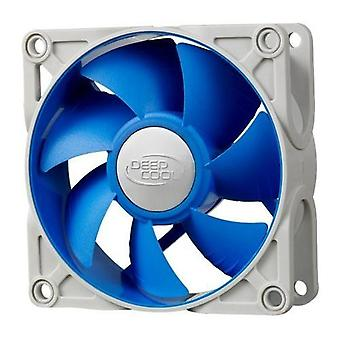 Ultra Silent 80mm x 25mm Ball Bearing Fan with Anti-Vibration Frame
