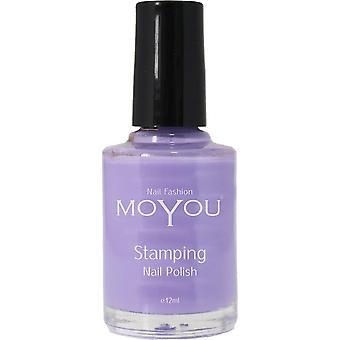 MoYou Stamping Nail Art - Special Nail Polish - Lilac 12ml