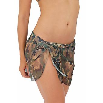 Camouflage Sarong: Short Length