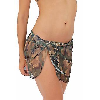 Camouflage sarong: kort lengde