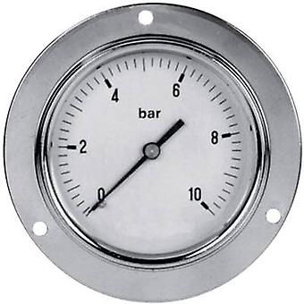 ICH Manometer 304.63.10 Connector (pressure gauge): Back side 0 up to 10 bar External thread 1/4 1 pc(s)