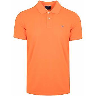 GANT GANT Sunny Orange Classic Polo Shirt