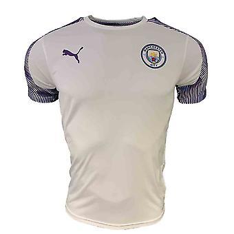 2019-2020 Manchester City Puma trainings shirt (wit)