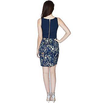 Sugarhill Boutique naisten sininen kukka mekko