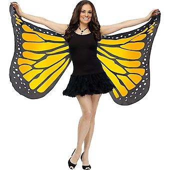 Wings Soft Butterfly Adlt Oran