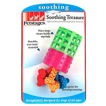 Petstages Soothing Treasure Rubberised Dog Toy