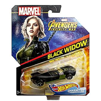 Marvel Avengers, Hot Wheels - Black Widow
