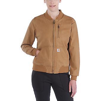 Carhartt Womens 102524 Crawford Rugged Flex Mesh Bomber Jacket
