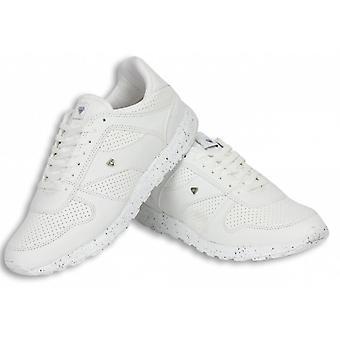 أحذية - أحذية رياضية منخفضة العدائين - أبيض