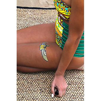 Metallic Temporary Tattoo Pack