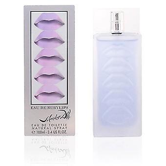 Women's Perfume Eau De Ruby Lips Salvador Dali EDT