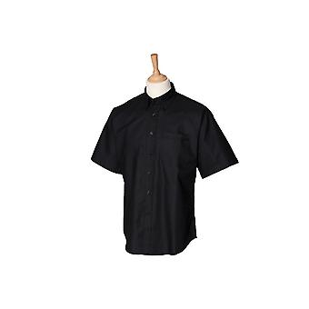 Henbury short sleeve classic oxford shirt hb515