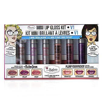 Mini lip gloss kit   # v1 6pcs