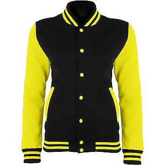Awdis Hoods Ladies Electric Varsity Coat