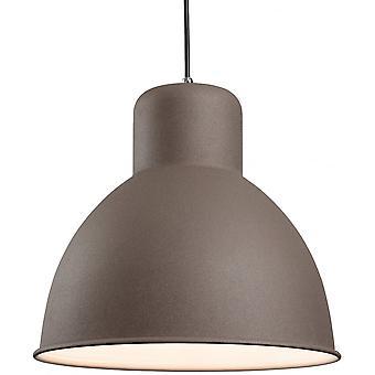 Firstlight Vigour Modern Concrete Dome Shade Ceiling Light Pendant