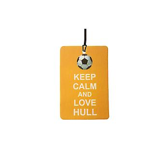 Keep Calm And Love Hull Car Air Freshener