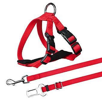 Trixie safety harness belt and cats