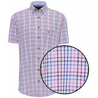 FYNCH HATTON Fynch Hatton Oxford Short Sleeve Shirt