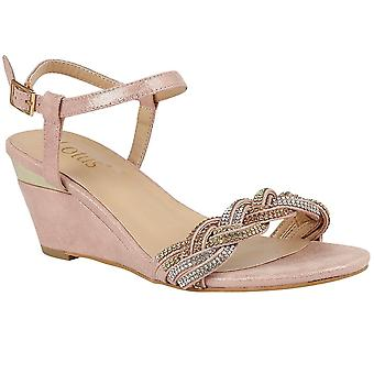 Lotus Josephine Strappy Wedge Sandals
