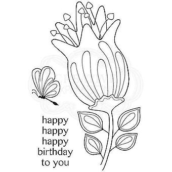 Woodware Clear Stamp Set - Bold Blooms Quincy