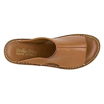 Bella Vita Frauen's Mae-Italien Folie Sandale, Tan Leder, US 10 N