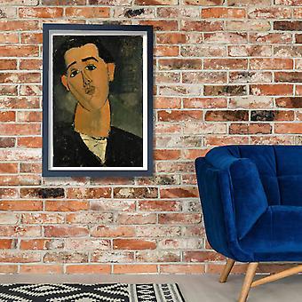 Amedeo Modigliani - Portrait of Juan Gris Poster Print Giclee