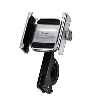 バーサス航空合金自転車オートバイスクーターハンドルバーリアビューミラー電話ホルダー360º回転4.7-6.5インチスマートフォン用